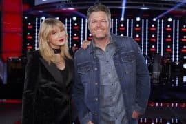 Taylor Swift, Blake Shelton; Photo by: Trae Patton/NBC