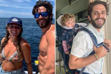 Thomas Rhett and Lauren Akins; Photos via Instagram