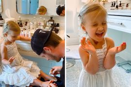 Tyler Hubbard and Daughter, Liv