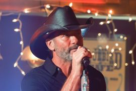 Tim McGraw; Photo by Jon Morgan/CBS
