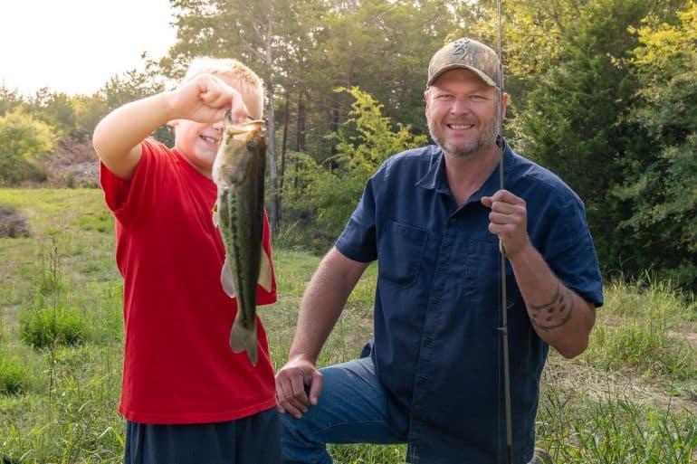 Blake Shelton; Photo Courtesy Oklahoma Wildlife Conservation Foundation
