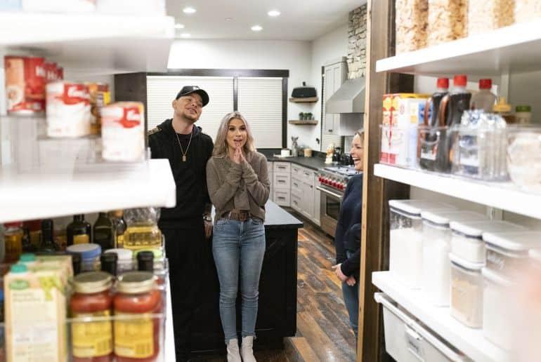 Kane Brown, Katelyn Brown, The Home Edit; Photo John Shearer/Netflix