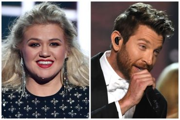 Kelly Clarkson; Photo by Ethan Miller/Getty Images, Brett Eldredge; Photo by Ethan Miller/Getty Images