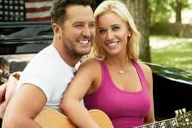 Luke Bryan and Wife Caroline