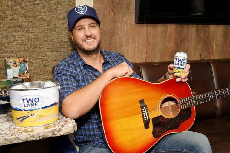 Luke Bryan; Photo Courtesy of Two Lane Brewing