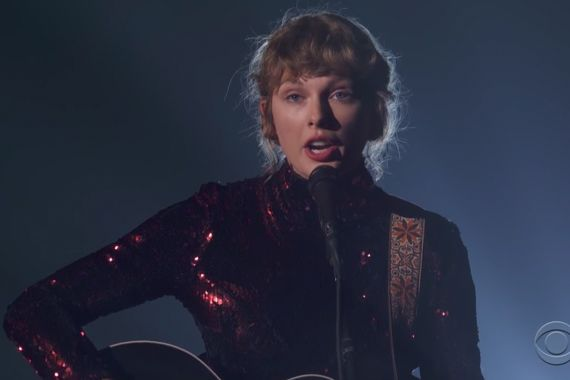Taylor Swift; Courtesy of CBS