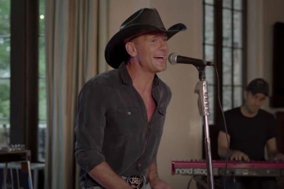 Tim McGraw; Photo Courtesy of YouTube/Jimmy Kimmel Live!