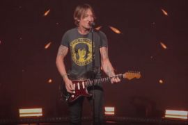 Keith Urban; Photo Courtesy of Late Night With Seth Myers