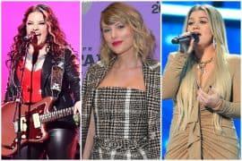 Ashley McBryde, Taylor Swift, Kelly Clarkson