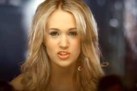 Carrie Underwood; Photo via YouTube