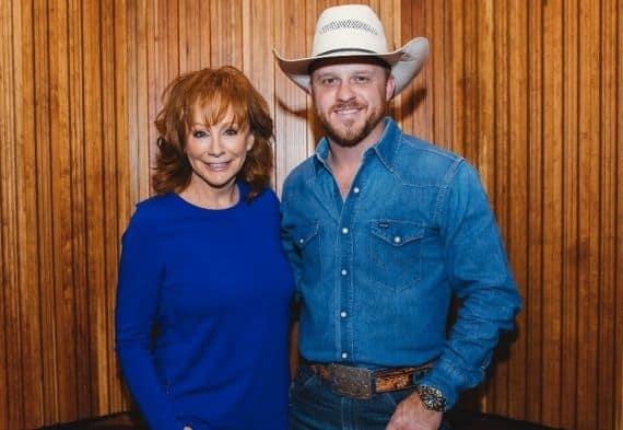 Cody Johnson, Reba; Photo Courtesy Warner Music Nashville