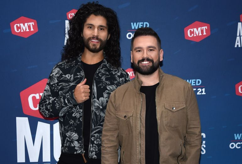 Dan + Shay; Photo by John Shearer/CMT2020/Getty Images for CMT