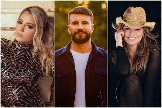 Gabby Barrett, Sam Hunt, Shania Twain