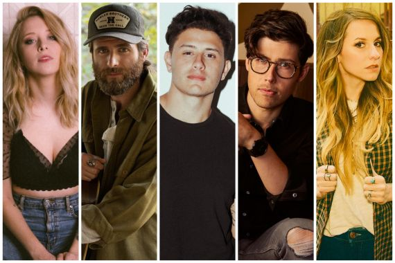Kalie Shorr, Canaan Smith, Roman Alexander, Adam Hambrick, Caitlyn Smith
