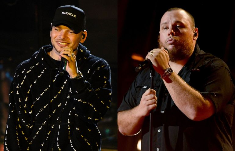 Kane Brown, Luke Combs; Photos by Kevin Winter/Getty Images for DCP