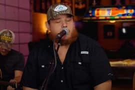 Luke Combs; Photo via YouTube