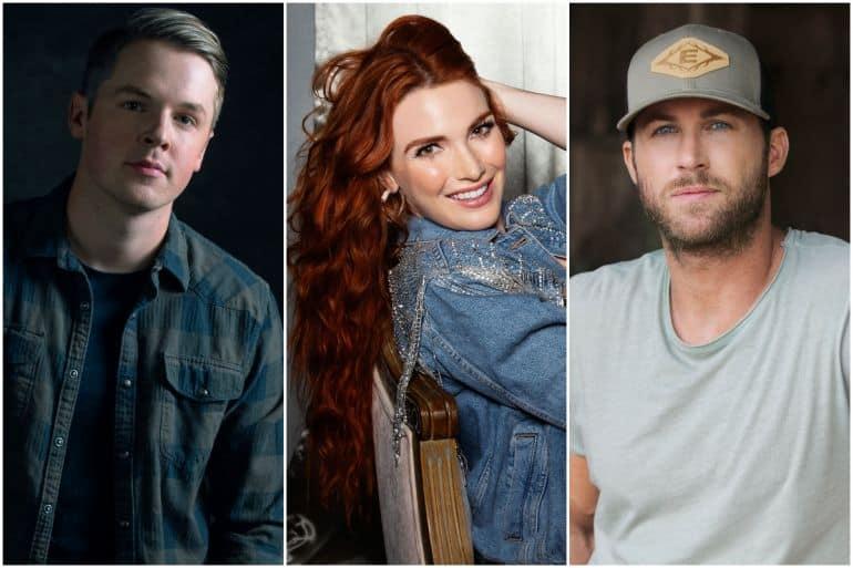 Travis Denning, Caylee Hammack, Riley Green