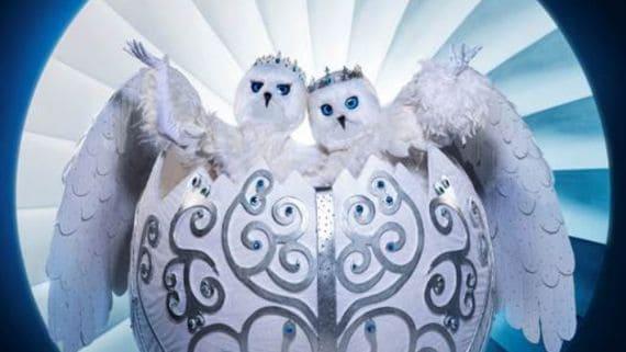 Snow Owls - The Masked Singer; Photo Courtesy FOX