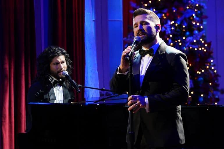 Dan + Shay; Photo Courtesy of CMA Country Christmas