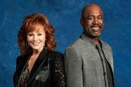 Reba McEntire and Darius Rucker; Photo Courtesy ABC