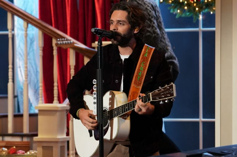 Thomas Rhett; Photo Courtesy of CMA Country Christmas