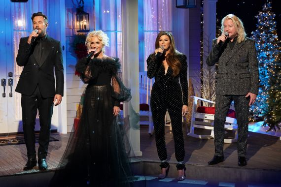 Little Big Town; Photo Courtesy of CMA Country Christmas