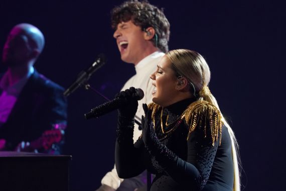 Charlie Puth and Gabby Barrett; Photo Courtesy of CMA