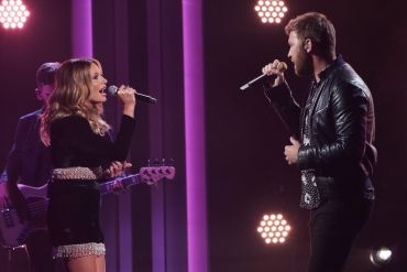 Carly Pearce and Lady A's Charles Kelley; Photo Courtesy of CMA