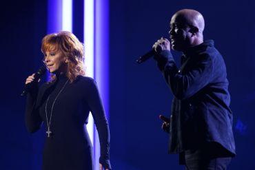 Reba McEntire and Darius Rucker; Photo Courtesy of CMA