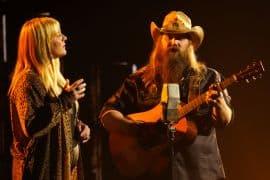 Chris Stapleton and Morgane Stapleton; Photo Courtesy of CMA