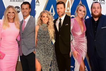 Miranda Lambert, Carrie Underwood and Luke Combs; Photos Courtesy of CMA