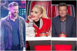 Ben Allen, Gwen Stefani, Blake Shelton; Photos Courtesy NBC