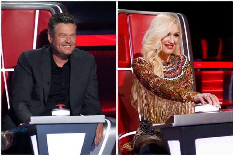 Blake Shelton, Gwen Stefani; Photos Courtesy NBC