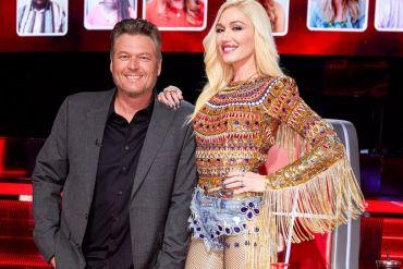 Blake Shelton, Gwen Stefani; Photo by: Trae Patton/NBC
