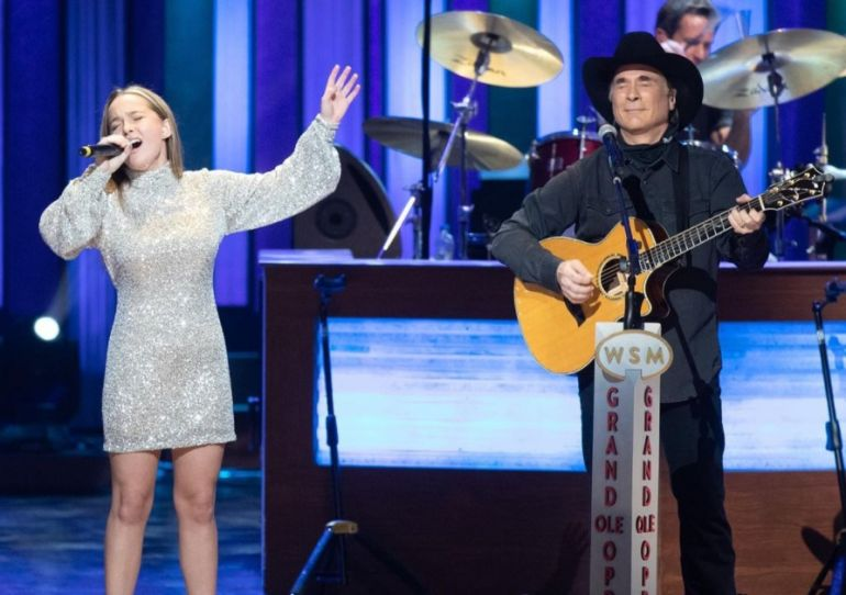 Clint Black and Daughter, Lily