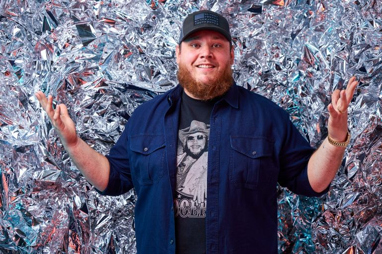 Luke Combs; Photo by Ford Fairchild