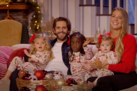 Thomas Rhett, Lauren Akins and Family