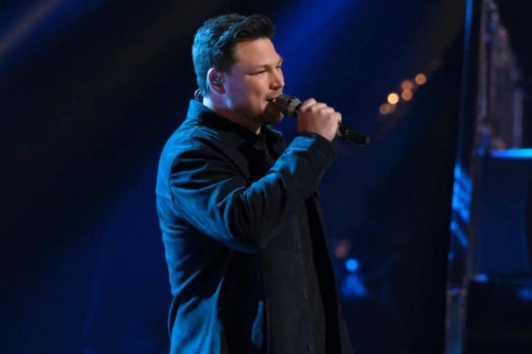 Ian Flanigan; Photo Courtesy NBC The Voice