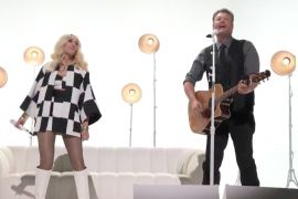 Blake Shelton and Gwen Stefani; Photo Courtesy of NBC