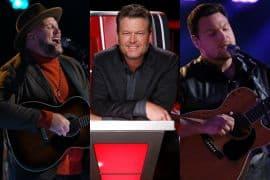 Jim Ranger, Blake Shelton, Ian Flanigan; Photos Courtesy NBC