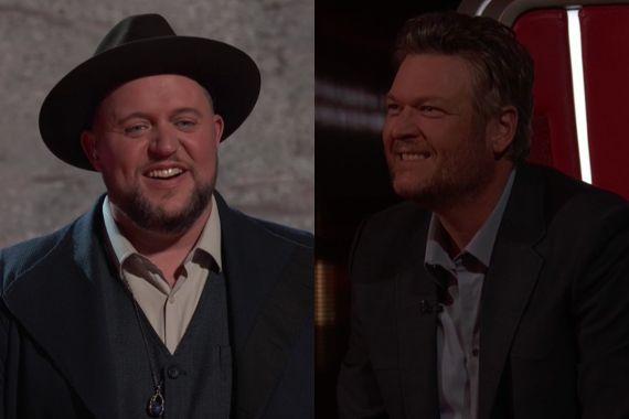 Jim Ranger, Blake Shelton; Photos Courtesy NBC