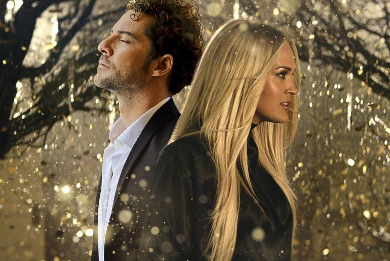 David Bisbal and Carrie Underwood; 'Tears Of Gold'