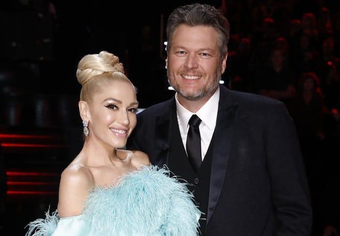 Gwen Stefani, Blake Shelton; Photo by: Trae Patton/NBC