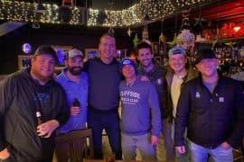 Luke Combs, Drew Holcomb, Peyton Manning, Kenny Chesney, Jake Owen, Morgan Wallen, Cole Swindell