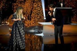 Kelly Clarkson and Brett Eldredge; Photo Courtesy of NBC