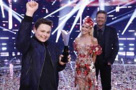 Carter Rubin, Gwen Stefani, Blake Shelton -- (Photo by: Trae Patton/NBC)