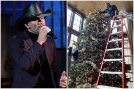 Tim McGraw Christmas Tree 1