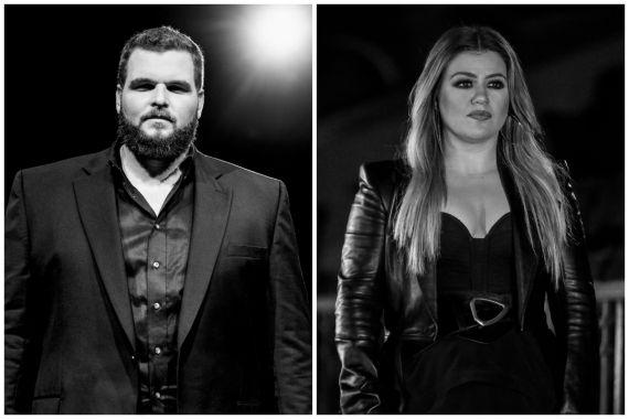 Jake Hoot, Kelly Clarkson; Photos by Jonathan Volk