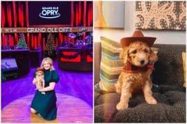 Lauren Alaina, Dog Opry; Photos via Instagram