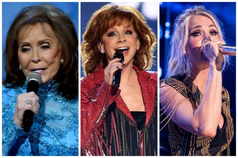 Loretta Lynn, Reba, Carrie Underwood